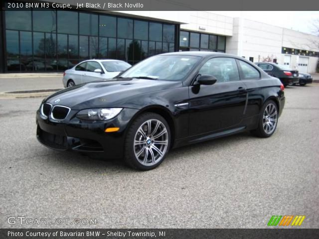 2010 BMW M3 Coupe in Jet Black