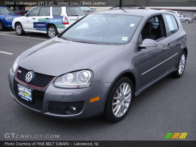 united grey 2006 volkswagen gti 2 0t black leather. Black Bedroom Furniture Sets. Home Design Ideas