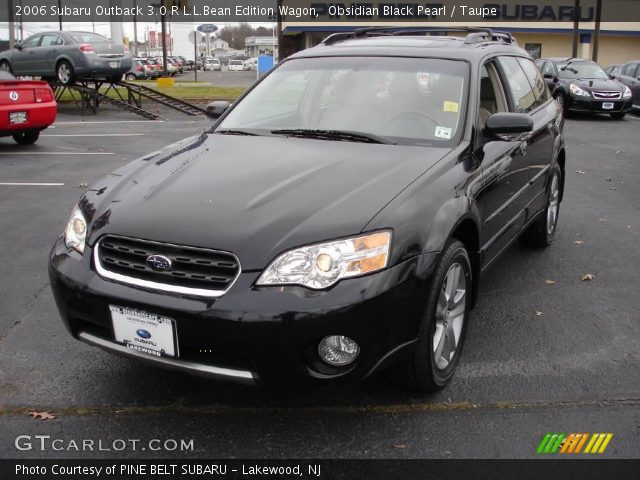 obsidian black pearl 2006 subaru outback 3 0 r l l bean. Black Bedroom Furniture Sets. Home Design Ideas
