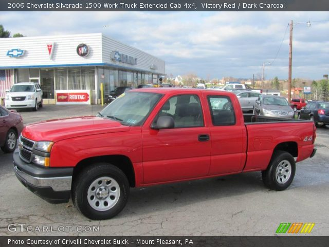 2006 Chevrolet Silverado 1500 Work Truck Extended Cab 4x4 in Victory Red