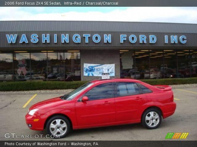infra red 2006 ford focus zx4 se sedan charcoal. Black Bedroom Furniture Sets. Home Design Ideas
