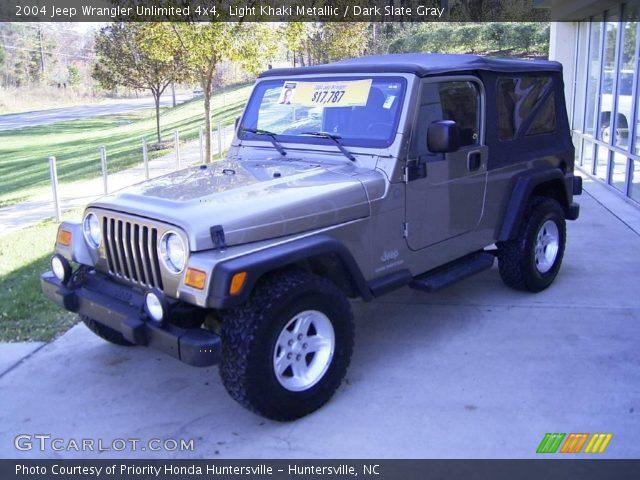 Light khaki metallic 2004 jeep wrangler unlimited 4x4 - Jeep wrangler unlimited interior lights ...