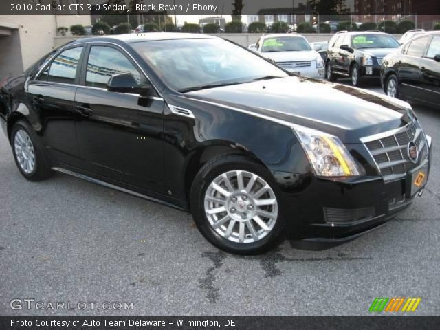 black raven 2010 cadillac cts 3 0 sedan ebony interior. Black Bedroom Furniture Sets. Home Design Ideas