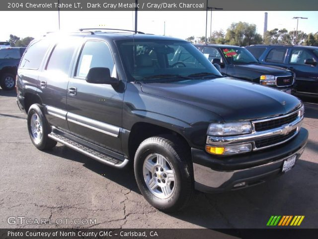 dark gray metallic 2004 chevrolet tahoe lt gray dark. Black Bedroom Furniture Sets. Home Design Ideas