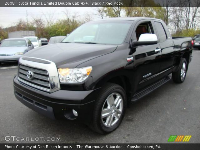 Tundra Limited Double Cab Pyrite Mica Color Red Rock Interior   Short ...