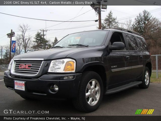 carbon metallic 2006 gmc envoy xl slt 4x4 ebony black. Black Bedroom Furniture Sets. Home Design Ideas