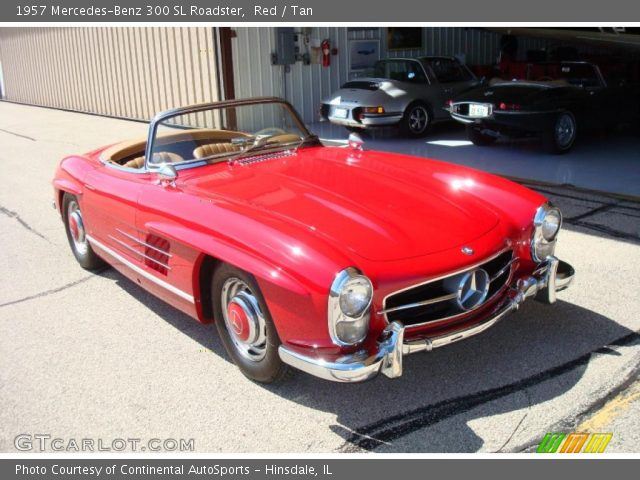 1957 Mercedes-Benz 300 SL Roadster in Red