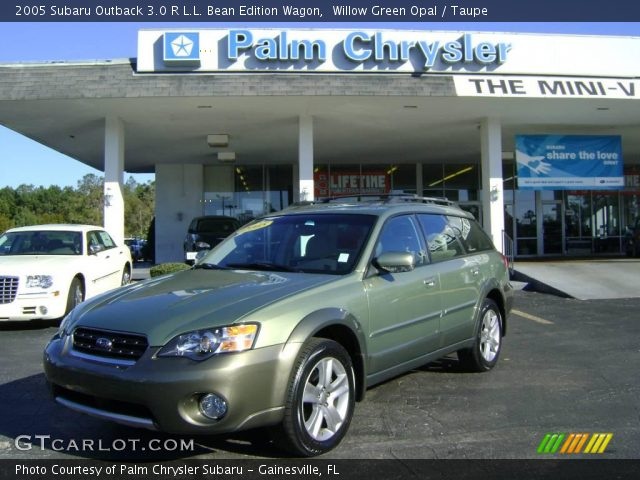 willow green opal 2005 subaru outback 3 0 r l l bean. Black Bedroom Furniture Sets. Home Design Ideas