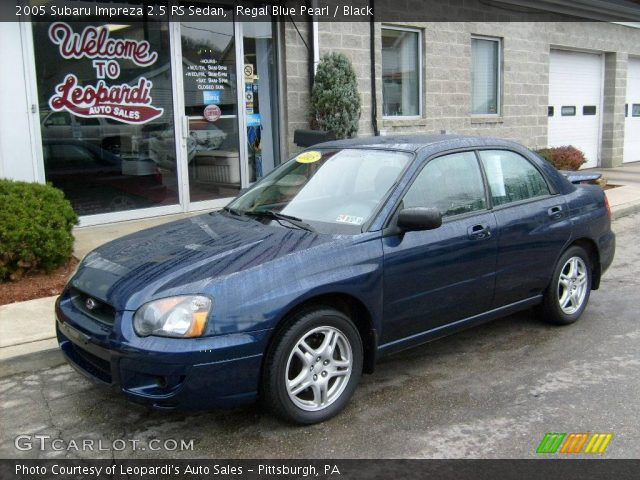 2005 subaru impreza 2 5 rs automatic us related infomation specifications weili automotive. Black Bedroom Furniture Sets. Home Design Ideas