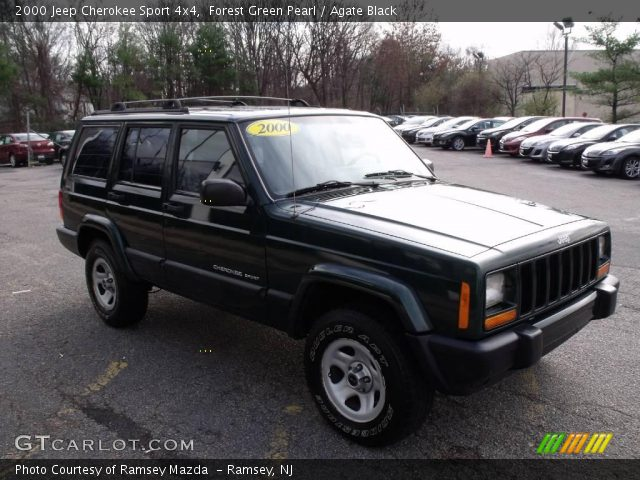 2000 jeep cherokee sport 4x4 in forest green pearl click to see large. Cars Review. Best American Auto & Cars Review