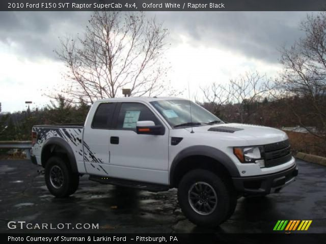 2010 Ford F150 SVT Raptor SuperCab 4x4 in Oxford White