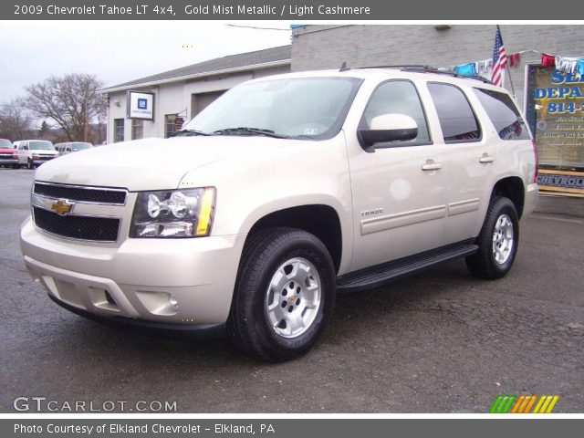 gold mist metallic 2009 chevrolet tahoe lt 4x4 light. Black Bedroom Furniture Sets. Home Design Ideas