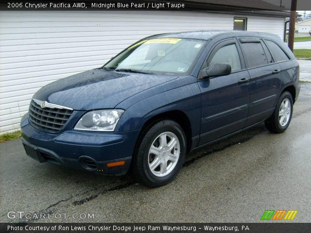 Midnight Blue Pearl 2006 Chrysler Pacifica Awd Light Taupe Interior Vehicle