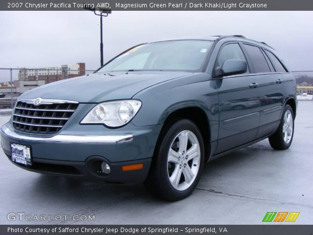 magnesium green pearl 2007 chrysler pacifica touring awd. Black Bedroom Furniture Sets. Home Design Ideas