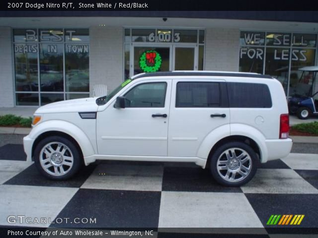 Stone White - 2007 Dodge Nitro R/T - Red/Black Interior | GTCarLot.com ...