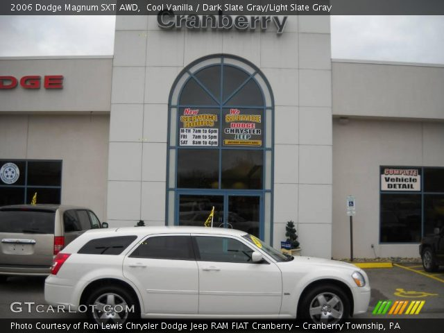 Cool Vanilla - 2006 Dodge Magnum SXT AWD - Dark Slate Gray/Light Slate ...