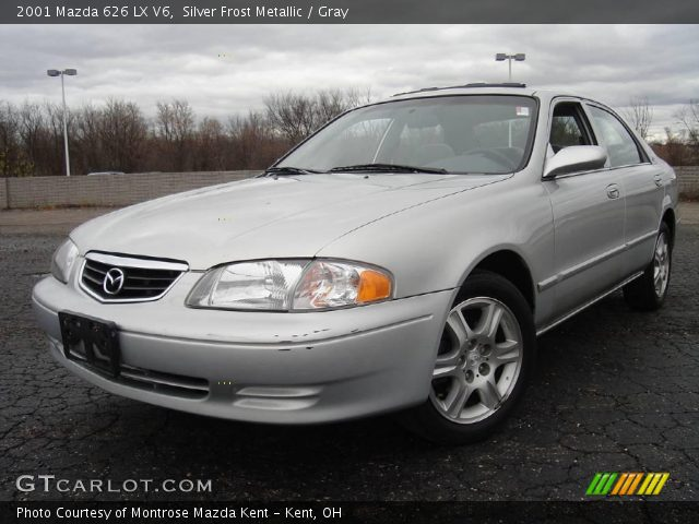 silver frost metallic 2001 mazda 626 lx v6 gray interior gtcarlot com vehicle archive 22432502 gtcarlot com