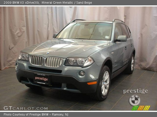 mineral green metallic 2009 bmw x3 xdrive30i sand. Black Bedroom Furniture Sets. Home Design Ideas