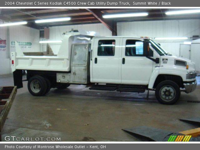 2004 Chevy C4500 Crew Cab Dump Truck