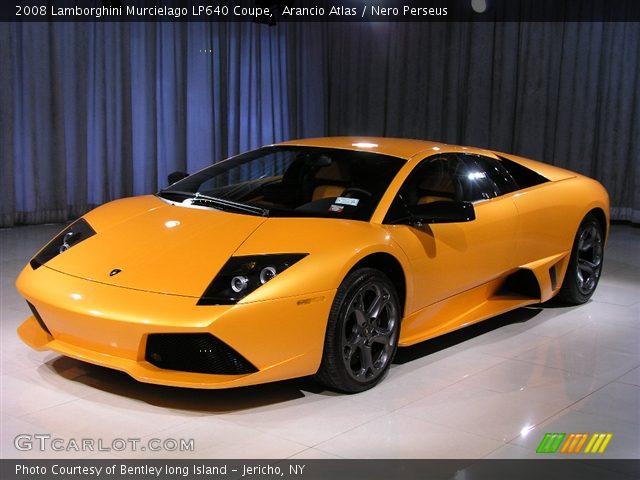 2008 Lamborghini Murcielago LP640 Coupe in Arancio Atlas