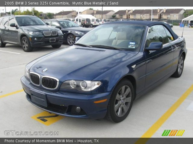 2005 BMW 3 Series 325i Convertible in Mystic Blue Metallic