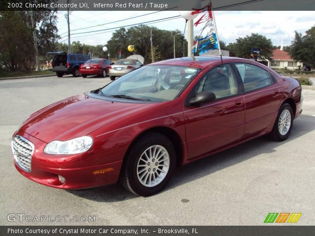 2002 Chrysler Concorde LXi in Inferno Red Pearl. Click to see large ...