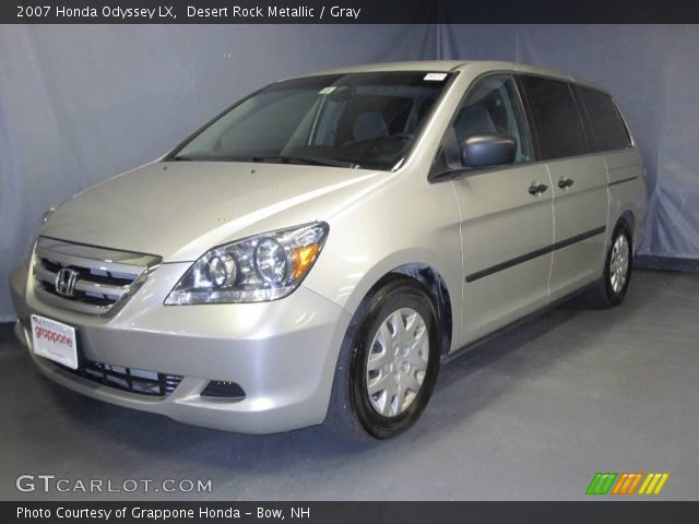 desert rock metallic 2007 honda odyssey lx gray. Black Bedroom Furniture Sets. Home Design Ideas