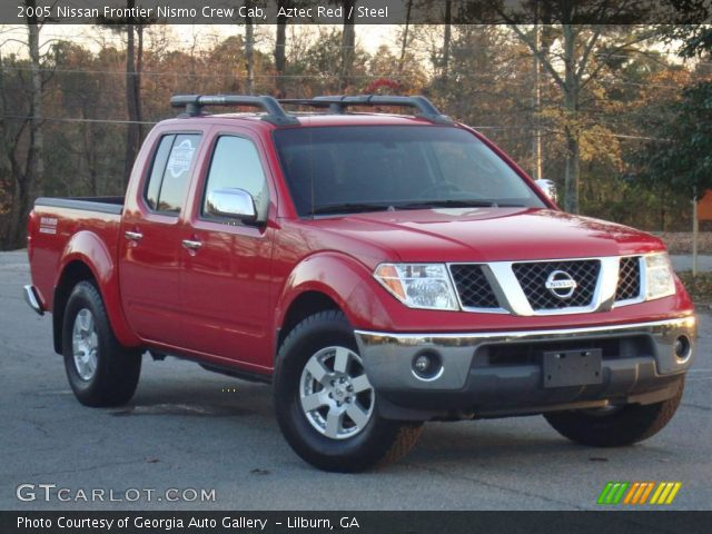 aztec red 2005 nissan frontier nismo crew cab steel. Black Bedroom Furniture Sets. Home Design Ideas