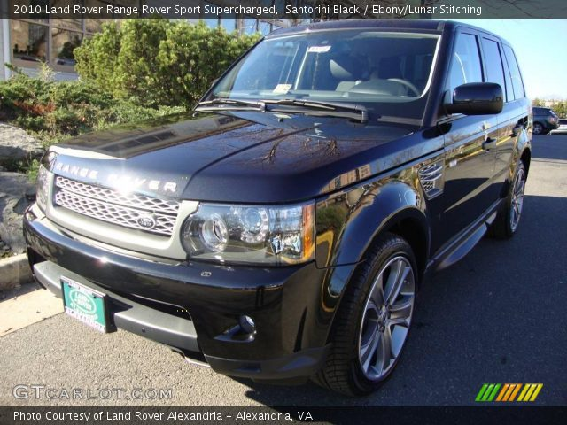 2010 Land Rover Range Rover Sport Supercharged in Santorini Black