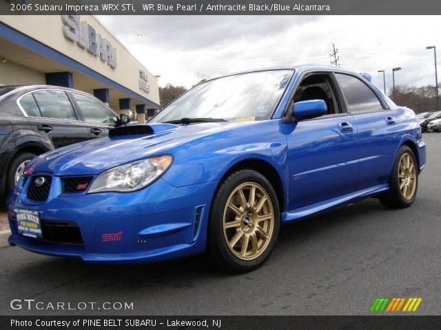 Sell used 2006 Subaru Impreza WRX STi World Rally Blue 490 ...  2006 Subaru Impreza Wrx Blue