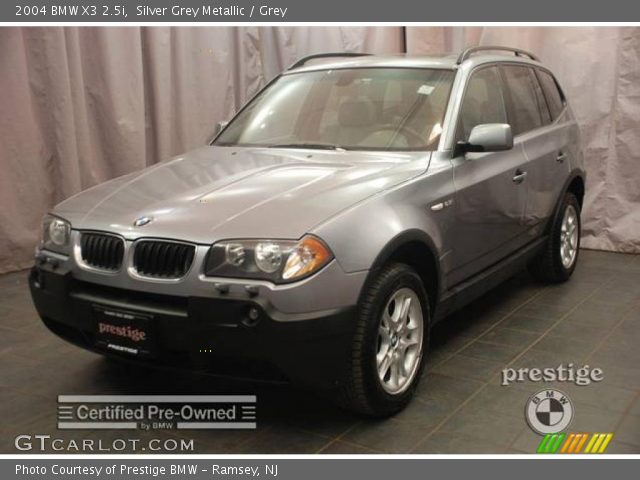 silver grey metallic 2004 bmw x3 grey interior. Black Bedroom Furniture Sets. Home Design Ideas