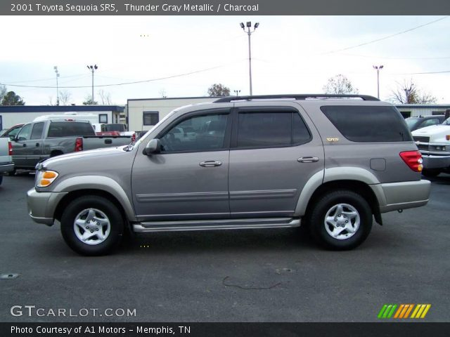 thunder gray metallic 2001 toyota sequoia sr5 charcoal interior vehicle. Black Bedroom Furniture Sets. Home Design Ideas