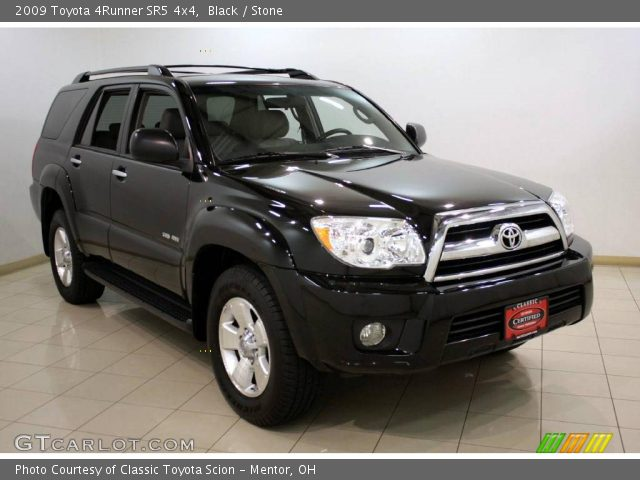 black 2009 toyota 4runner sr5 4x4 stone interior vehicle archive 22924413. Black Bedroom Furniture Sets. Home Design Ideas