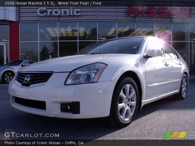winter frost pearl 2008 nissan maxima 3 5 sl frost interior vehicle archive. Black Bedroom Furniture Sets. Home Design Ideas