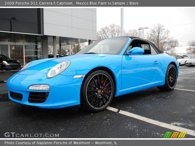 Mexico Blue Paint To Sample 2009 Porsche 911 Carrera S