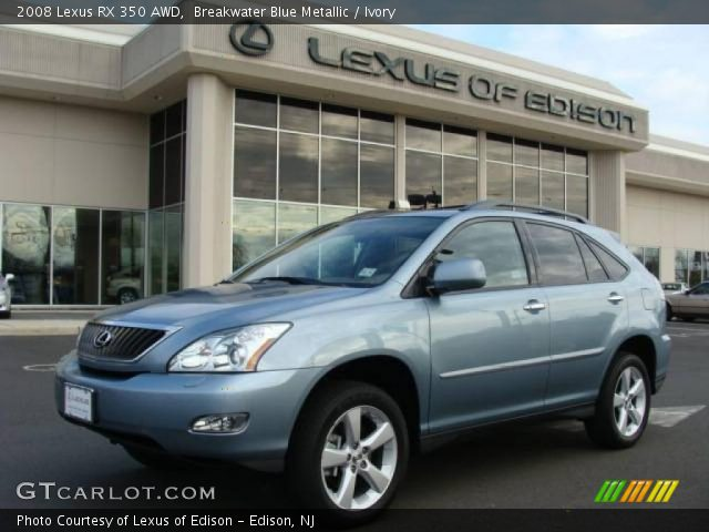 2008 Lexus RX 350 AWD in Breakwater Blue Metallic