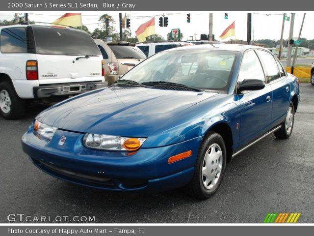 blue 2000 saturn s series sl1 sedan gray interior vehicle archive 22986142. Black Bedroom Furniture Sets. Home Design Ideas