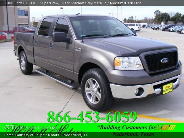 dark shadow grey metallic 2006 ford f150 xlt supercrew. Black Bedroom Furniture Sets. Home Design Ideas
