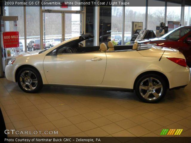 2009 Pontiac G6 GT Convertible in White Diamond Tri Coat