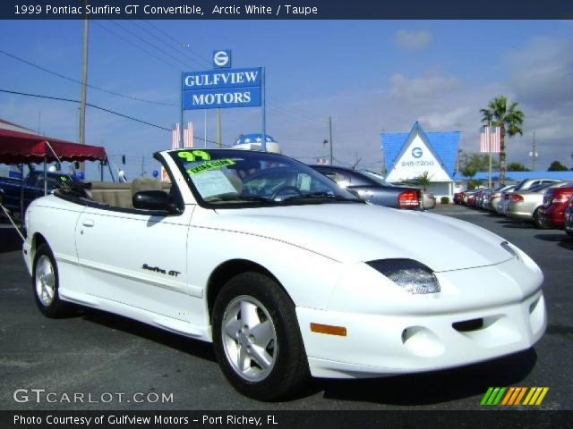 1999 Pontiac Sunfire Gt Convertible. 1999 Pontiac Sunfire GT