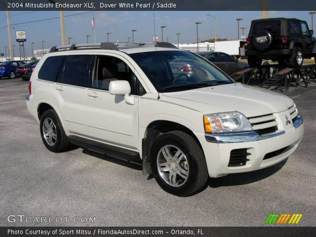 Dover White Pearl 2004 Mitsubishi Endeavor Xls Saddle Interior Vehicle