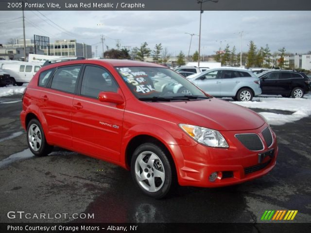 2005 red pontiac vibe