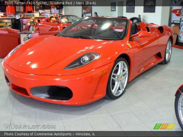 Ferrari F430 Interior Pictures. Scuderia Red 2006 Ferrari F430