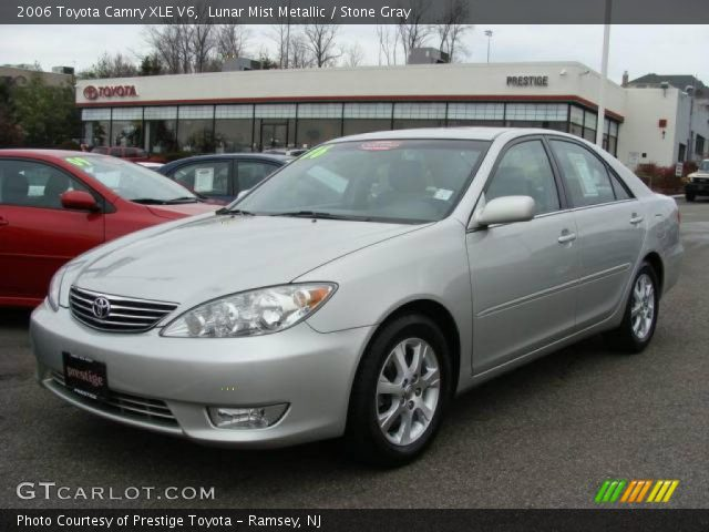 lunar mist metallic 2006 toyota camry xle v6 stone gray interior vehicle. Black Bedroom Furniture Sets. Home Design Ideas