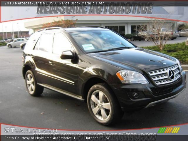 2010 Mercedes-Benz ML 350 in Verde Brook Metallic