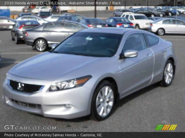 2010 honda accord ex l v6 coupe in alabaster silver metallic click to