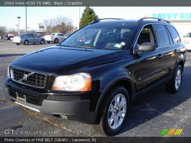 black 2004 volvo xc90 t6 awd graphite interior vehicle archive 23557553. Black Bedroom Furniture Sets. Home Design Ideas