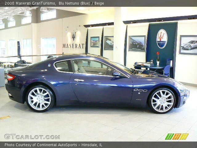 2008 Maserati GranTurismo  in Blu Nettuno (Blue)