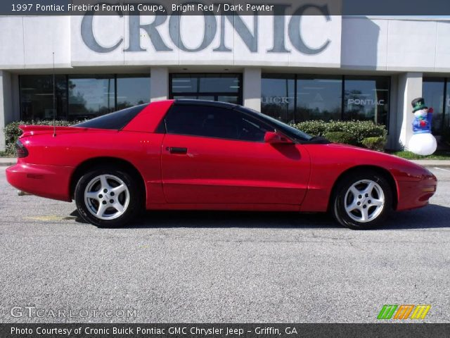 bright red 1997 pontiac firebird formula coupe dark. Black Bedroom Furniture Sets. Home Design Ideas