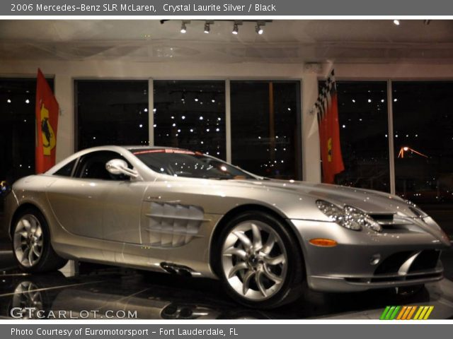 2006 Mercedes-Benz SLR McLaren in Crystal Laurite Silver